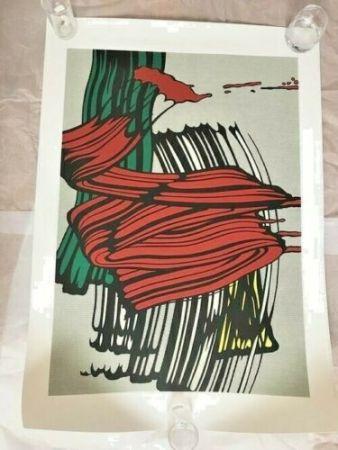 シルクスクリーン Lichtenstein - BIG PAINTING NO 6