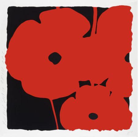 シルクスクリーン Sultan - Big Poppies