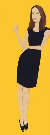 シルクスクリーン Katz - Black Dress - Christy