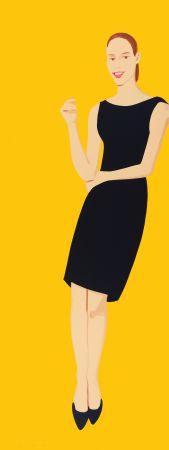 シルクスクリーン Katz - Black Dress - Ulla