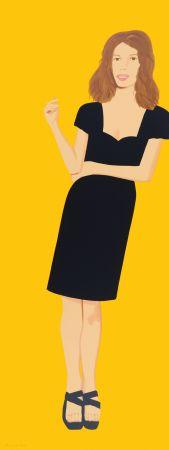 シルクスクリーン Katz - Black Dress -Cecily