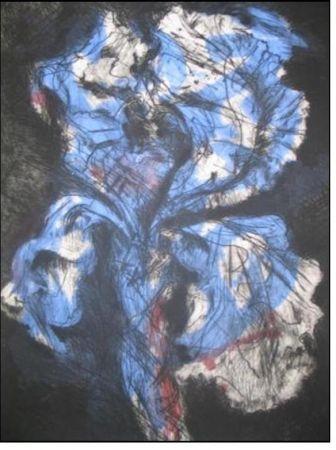 彫版 Kentridge - Black Iris