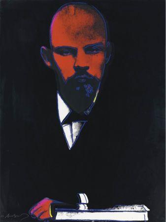 シルクスクリーン Warhol - Black Lenin (FS II.402)