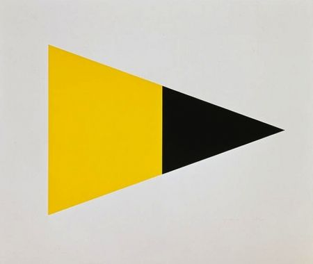 リトグラフ Kelly - Black Yellow