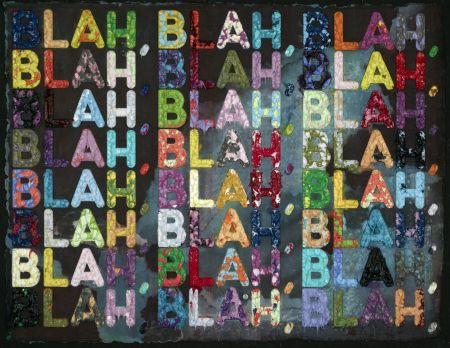 モノタイプ Bochner - Blah Blah Blah (Black)