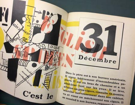 挿絵入り本 Leger - Blaise Cendrars : La Fin Du Monde Filmée Par L'Ange N.-D. Roman. Compositions en Couleurs par Fernand Léger.