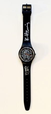 技術的なありません Haring - Blanc sur Noir (GZ104), watch