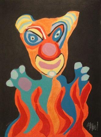 木版 Appel - Blatt der Folge Circus / Cirque, Soleil du Monde
