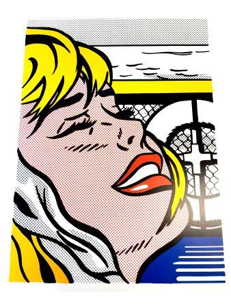 リトグラフ Lichtenstein - Blonde