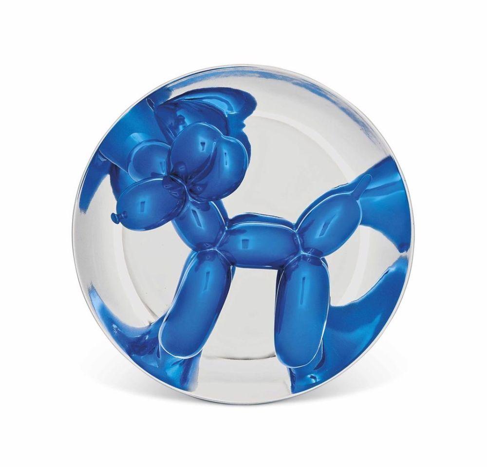 技術的なありません Koons - Blue Balloon Dog