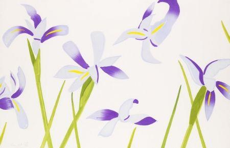 木版 Katz - Blue Irises