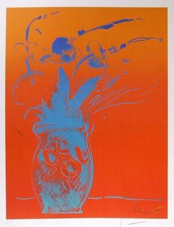 リトグラフ Max - Blue Vase
