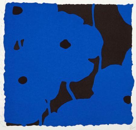 シルクスクリーン Sultan - Blues, Sept. 20, 2008