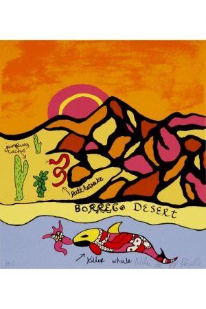 リトグラフ De Saint Phalle - Borrego desert