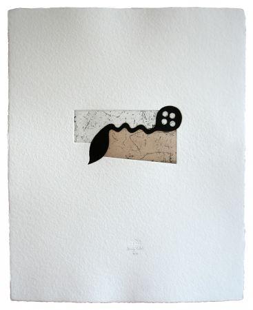 エッチングと アクチアント Baroja-Collet - Botón