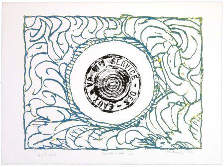 リトグラフ Alechinsky - Bouche d'eau III