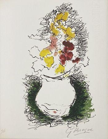 リトグラフ Braque - Bouquet