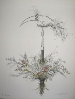 リトグラフ Searle - Bouquet garni