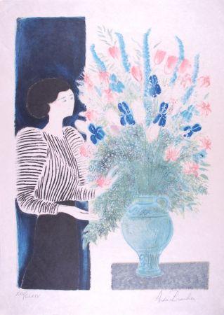リトグラフ Brasilier - Bouquet Royal