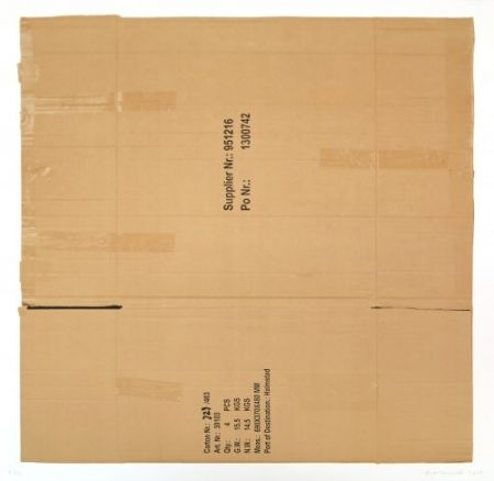 リトグラフ Faldbakken - Box 3