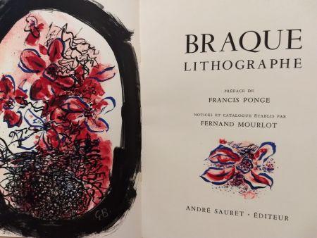 挿絵入り本 Braque - Braque Lithographie