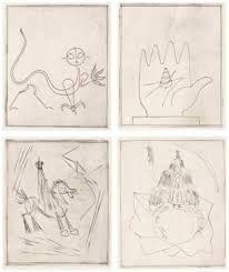 エッチング Giacometti - BRETON (André). L'Air de l'eau