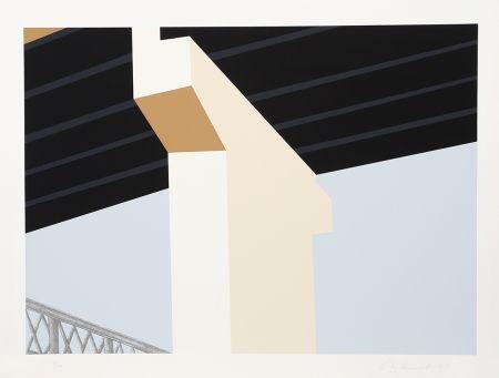 シルクスクリーン D'arcangelo - Bridge