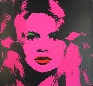 シルクスクリーン Warhol (After) - Brigitte Bardot