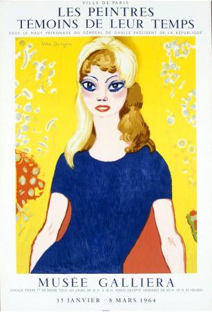リトグラフ Van Dongen - Brigitte Bardot