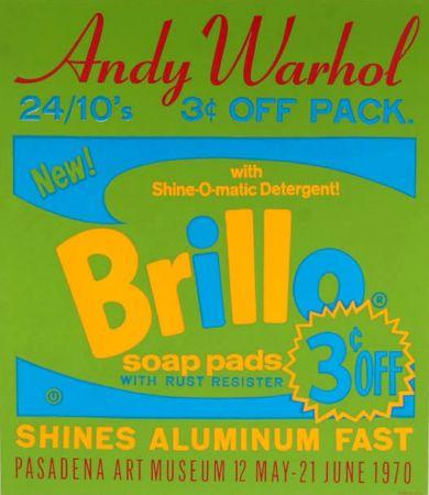 シルクスクリーン Warhol - Brillo Soap Pads