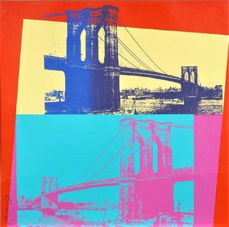 シルクスクリーン Warhol - Brooklyn Bridge