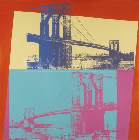 シルクスクリーン Warhol - Brooklyn Bridge (Fs Ii.290)