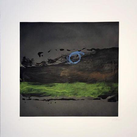 エッチングと アクチアント Frankenthaler - Broome Street At Night