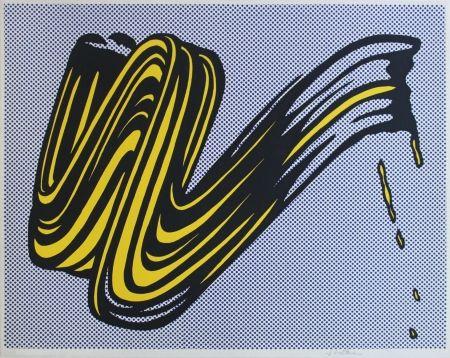 シルクスクリーン Lichtenstein - Brushstroke Corlett II 5