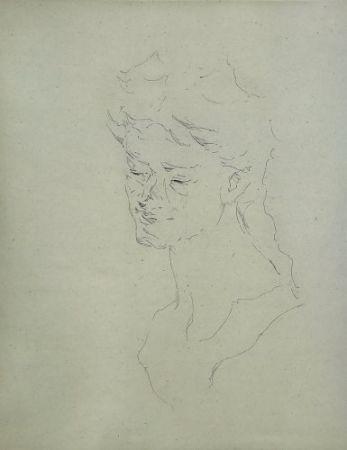 彫版 Paul P - Bust de la Bacant I