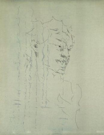 彫版 Paul P - Bust de la Bacant III