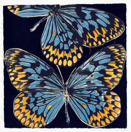 シルクスクリーン Sultan - Butterflies