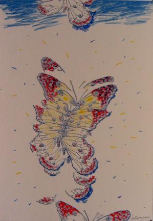 シルクスクリーン Vanarsky - Butterfly