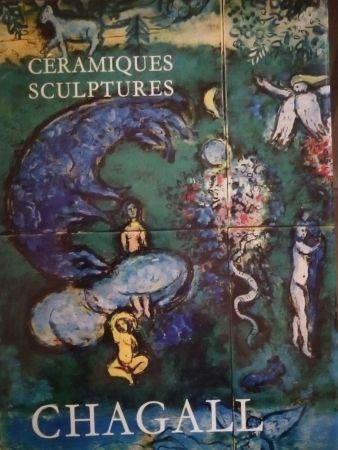 挿絵入り本 Chagall - Céramiques Sculptures