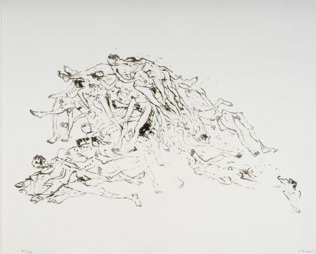 リトグラフ Music - Cadastre de Cadavres