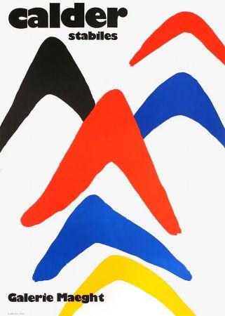 掲示 Calder - CALDER 71 : Exposition