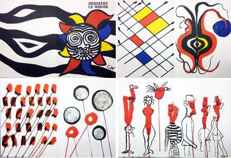 挿絵入り本 Calder - CALDER OISELEUR DU FER. DERRIÈRE LE MIROIR N° 156 (1966).
