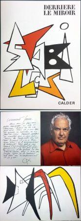 挿絵入り本 Calder - CALDER. STABILES. Derrière le Miroir n° 141. 8 LITHOGRAPHIES ORIGINALES (1963)