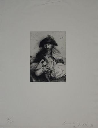 彫版 Condé - Caminante
