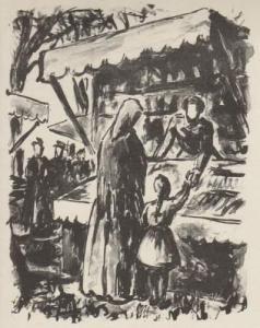 挿絵入り本 Bouleau - Campagne. Lithographies de Charles Bouleau.