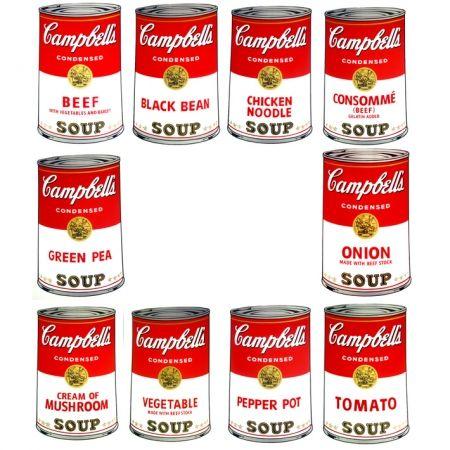 シルクスクリーン Warhol (After) - Campbell's Soup - Portfolio