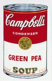 シルクスクリーン Warhol (After) - Campbell´s Soup Can
