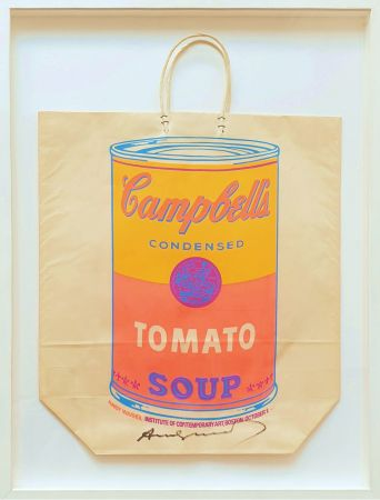 シルクスクリーン Warhol - Campbell's Soup Can (Tomato)