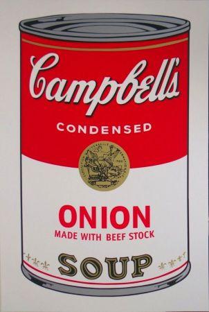 シルクスクリーン Warhol - Campbell's Soup I: Onion (FS II.47)