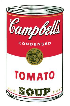 シルクスクリーン Warhol - Campbell's Soup I: Tomato (FS II.46)